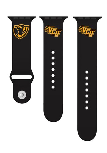 Collegiate Bead Co. Apple Watch Band: Ram Shield-VCU logo