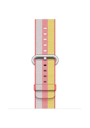 Apple Apple Watch Band: 38mm Red Woven Nylon