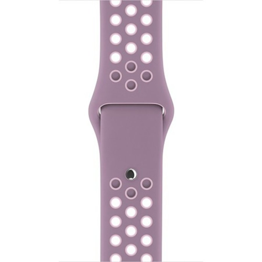 Apple Watch Band: 38mm Violet Dust/Plum Fog Nike Sport Band - S/M & M/L