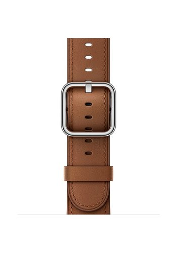Apple Apple Watch Band: 38mm Saddle Brown Classic Buckle