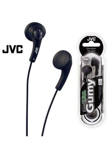 JVC JVC Gumy Headphone, Black, In Ear
