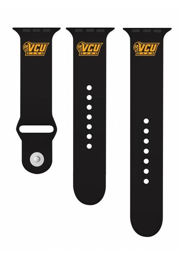 Collegiate Bead Co. Apple Watch Band: VCU Rams logo