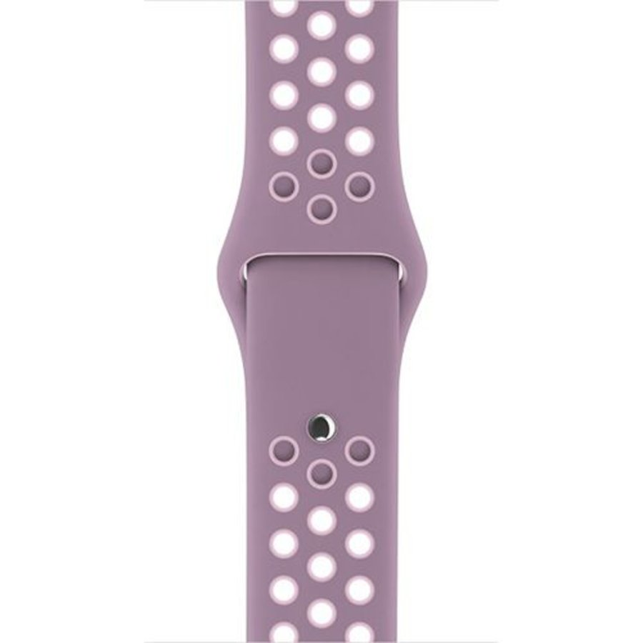 Apple Watch Band: 38mm Violet Dust/Plum Fog Nike Sport Band - S/M & M/L
