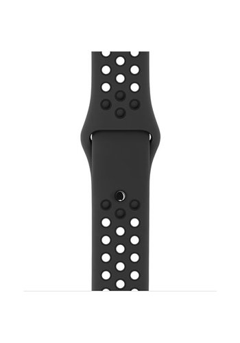 Apple Watch Band: 42mm Anthracite/Black Nike Sport Band - S/M & M/L