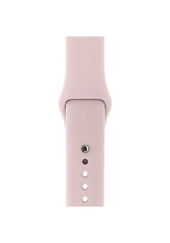 Apple Watch Band: 38mm Pink Sand Sport Band - S/M & M/L
