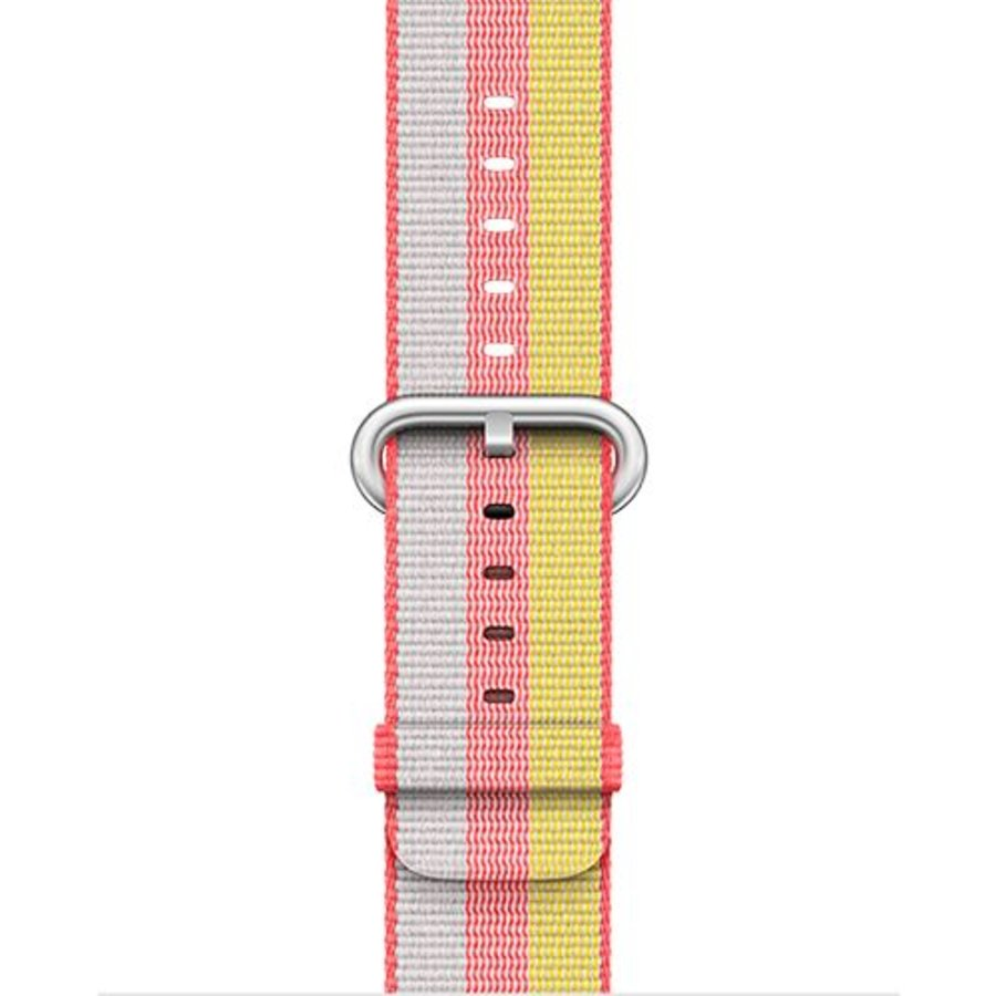 Apple Watch Band: 42mm Red Woven Nylon