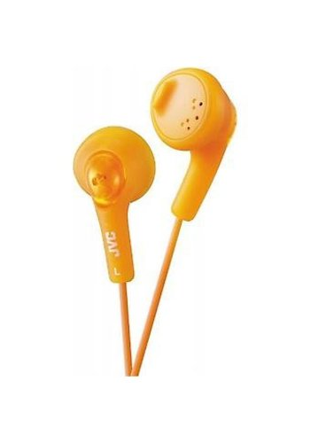 JVC Gumy Headphone, Orange, In Ear