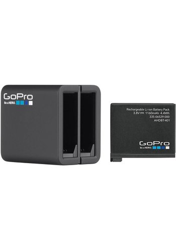 GoPro GoPro Dual Battery Charger + Battery (for HERO4)