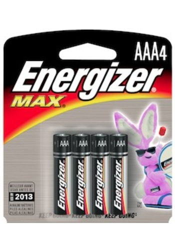 Energizer AAA Alkaline General Purpose Batteries