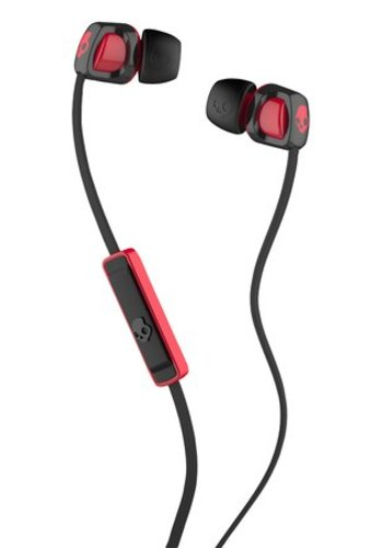 Skullcandy Smokin' Buds 2.0 with Mic (Black/Red)