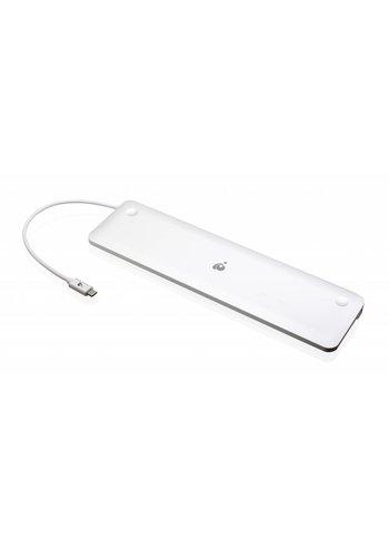 IOGEAR IOGEAR USB 3.0 Type-C Ultra-Slim Dual Display Docking Station