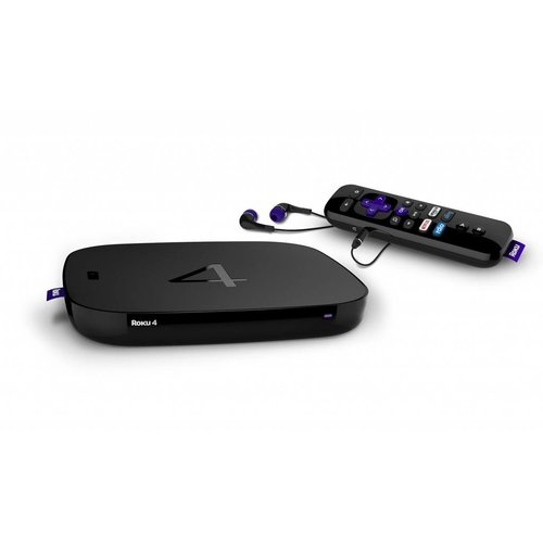 Roku 4 Network Audio/Video Player (Black)