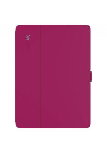 Speck Products StyleFolio Carrying Case (Folio) for iPad Pro (Fuchsia Pink, Nickel Gray)