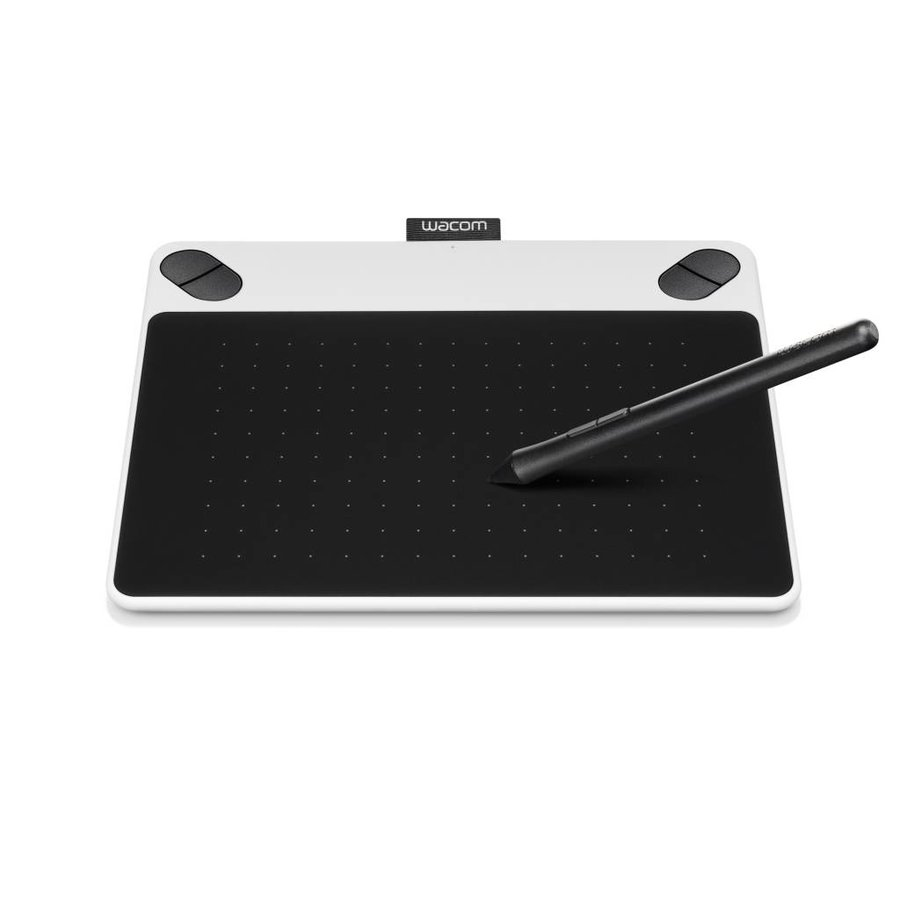 Wacom Intuos Draw Graphics Tablet Small (White)