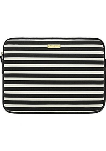 "Kate Spade Carrying Sleeve for 13"" MacBook (Black/Cream)"