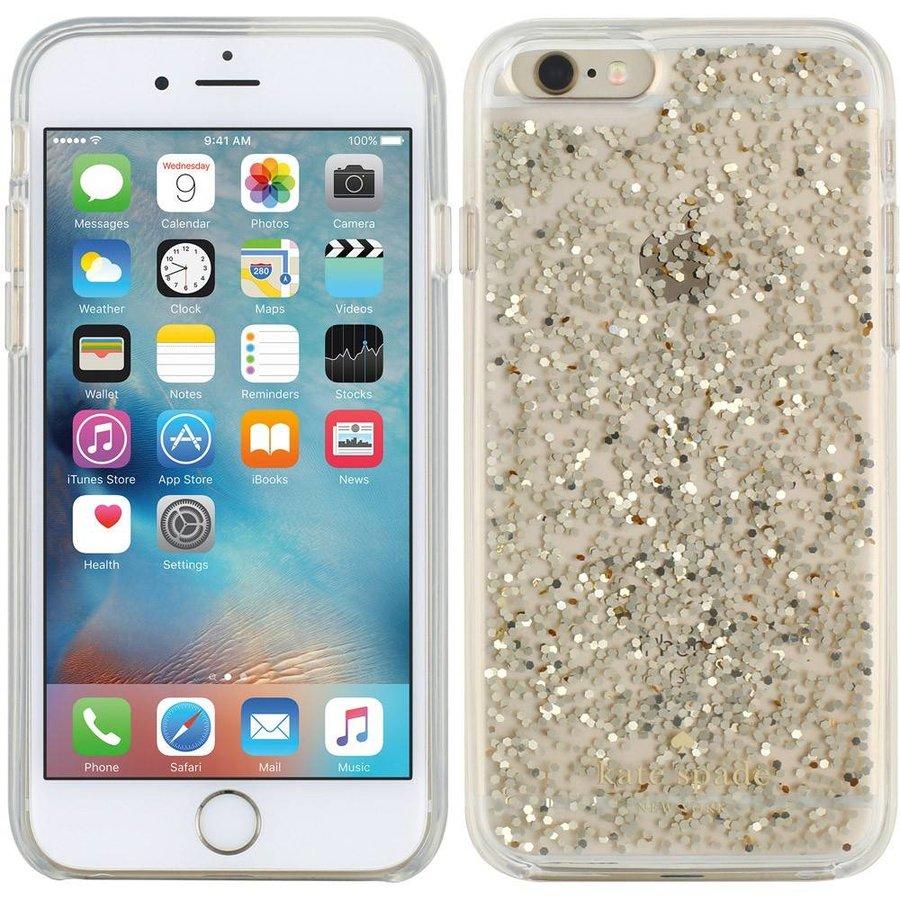 Kate Spade iPhone 6/6S Case (Glitter Gold)