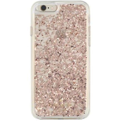 Incipio Kate Spade iPhone 6/6S Case (Rose Gold Glitter)
