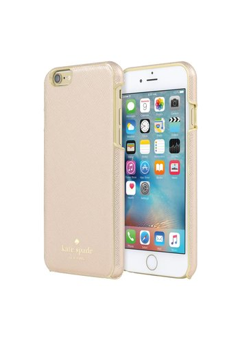 Kate Spade iPhone 6/6S Case (Rose Gold Leather)