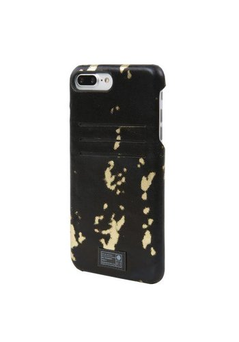 HEX iPhone 7/8+ Solo Wallet (Black/Gold)
