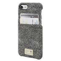HEX iPhone 7 Solo Wallet (Black/White Stingray