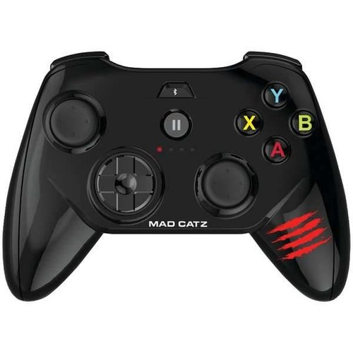 Mad Catz Micro C.T.R.L. Mobile GameSmart Controller (Gloss Black) for iOS