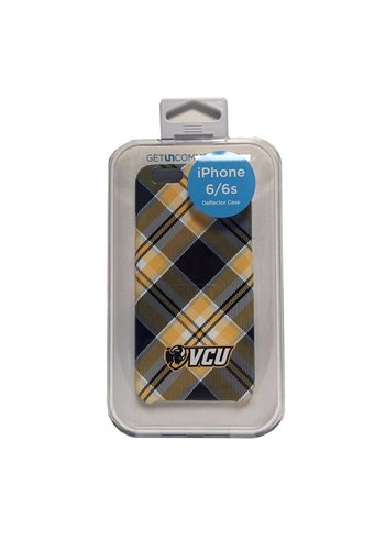 Uncommon Uncommon VCU Tartan Ram Head Wordmark iPhone 6 Plus Deflector Case