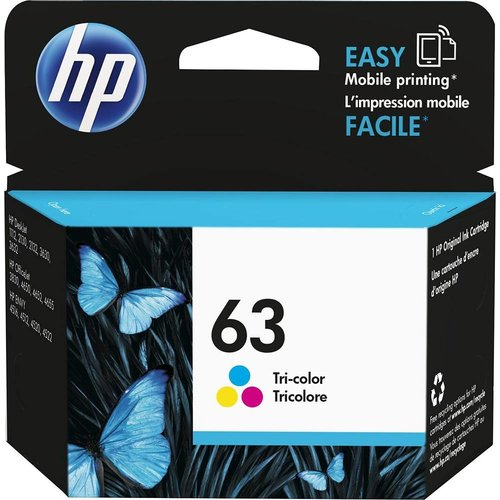 HP 63 Tri-Colo Ink Cartridge