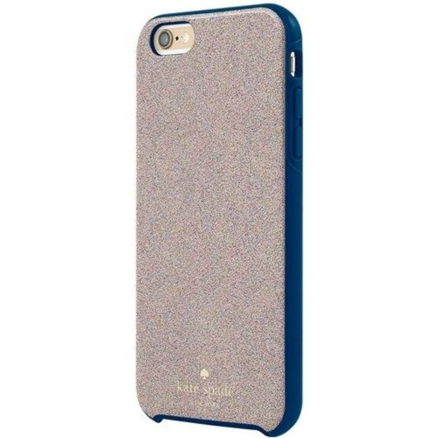 Kate Spade NY Hybrid Hardshell Case for iPhone 6/6S (Multi Glitter French Navy)