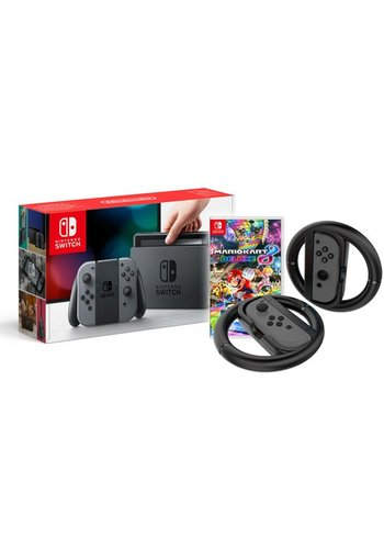 Nintendo Switch EDU Bundle Mario Kart 8 Wheels Accessory