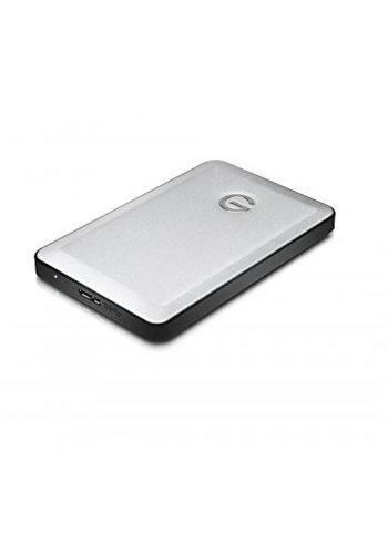 "G-Drive G-DRIVE mobile USB-C 1 TB 2.5"" External Hard Drive - Portable (Silver)"