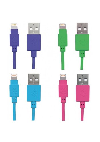 Manhattan Manhattan iLynkPOP Lightning Cable (1m)