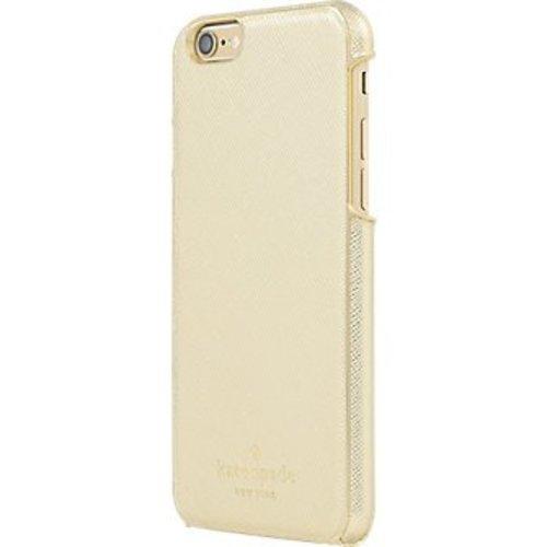 Kate Spade iPhone 6/6S Case (Saffiano Gold)