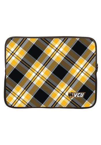"""VCU 10"""" Tablet Neoprene Sleeve w/Tartan Design"""