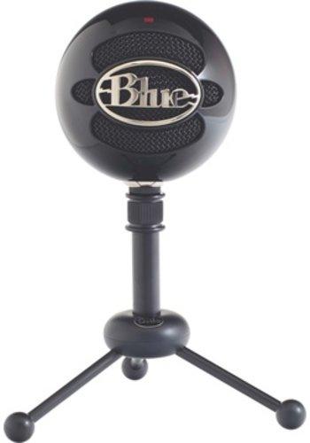 Blue Snowball USB Desktop Microphone (Black)