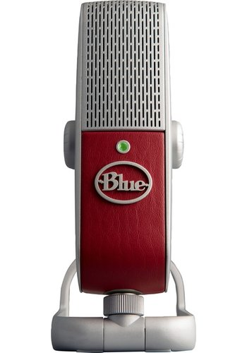 Blue Raspberry USB Desktop Microphone