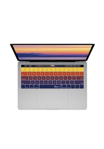 "KB Covers Sunset Keyboard Cover MacBook Pro 13"" and 15"" w/ Touch bar"