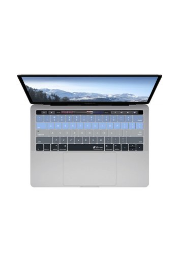 "KB Covers Aspen Keyboard Cover MacBook Pro 13"" and 15""  w/ Touch Bar"