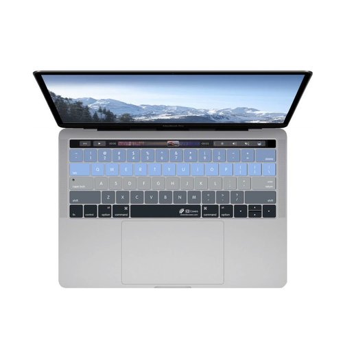 """KB Covers Aspen Keyboard Cover MacBook Pro 13"""" and 15""""  w/ Touch Bar"""
