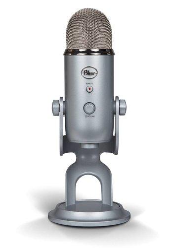 Blue Yeti USB Microphone (Silver)