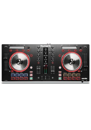 Numark Mixtrack Pro 3 - DJ Controller for Serato DJ with Integrated Sound Card