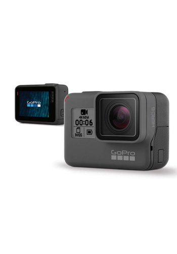 "GoPro HERO6 Digital Camcorder - 2"" - Touchscreen LCD - CMOS - 4K - Black"