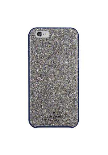 Kate Spade NY Hybrid Hardshell Case for iPhone 6/6S (Multi Glitter French Navy)