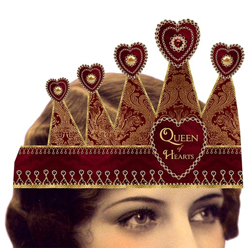 Heart the Moment Queen of Hearts/Hearts Tiara