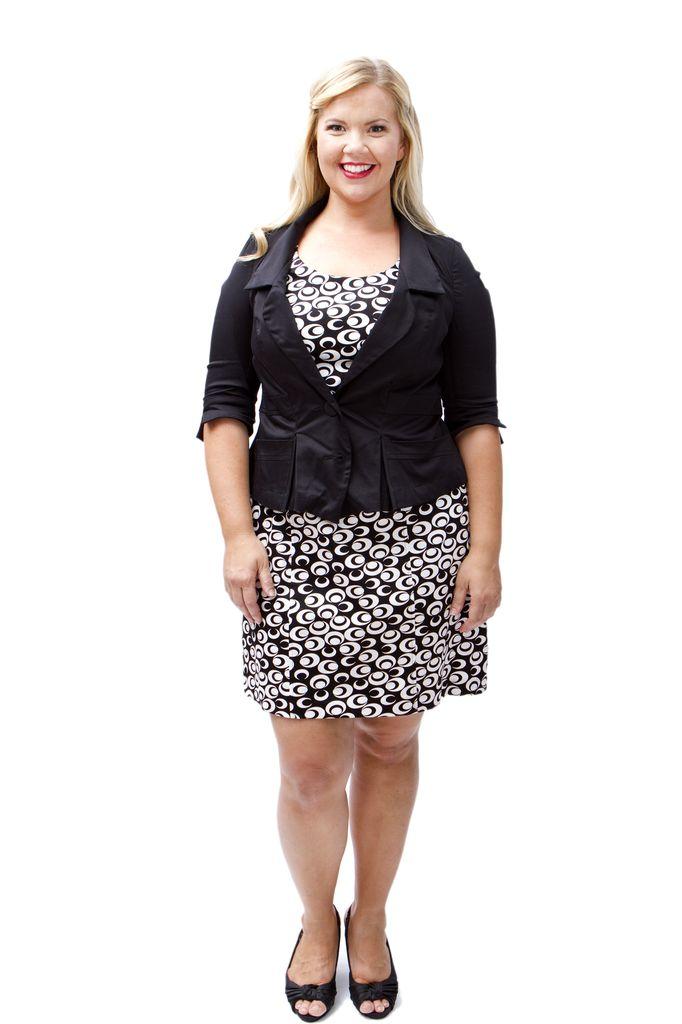 Lee Lee's Valise Angelina Jacket in Black Sateen