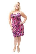 Lee Lee's Valise Sophia Dress in Pink Pallet