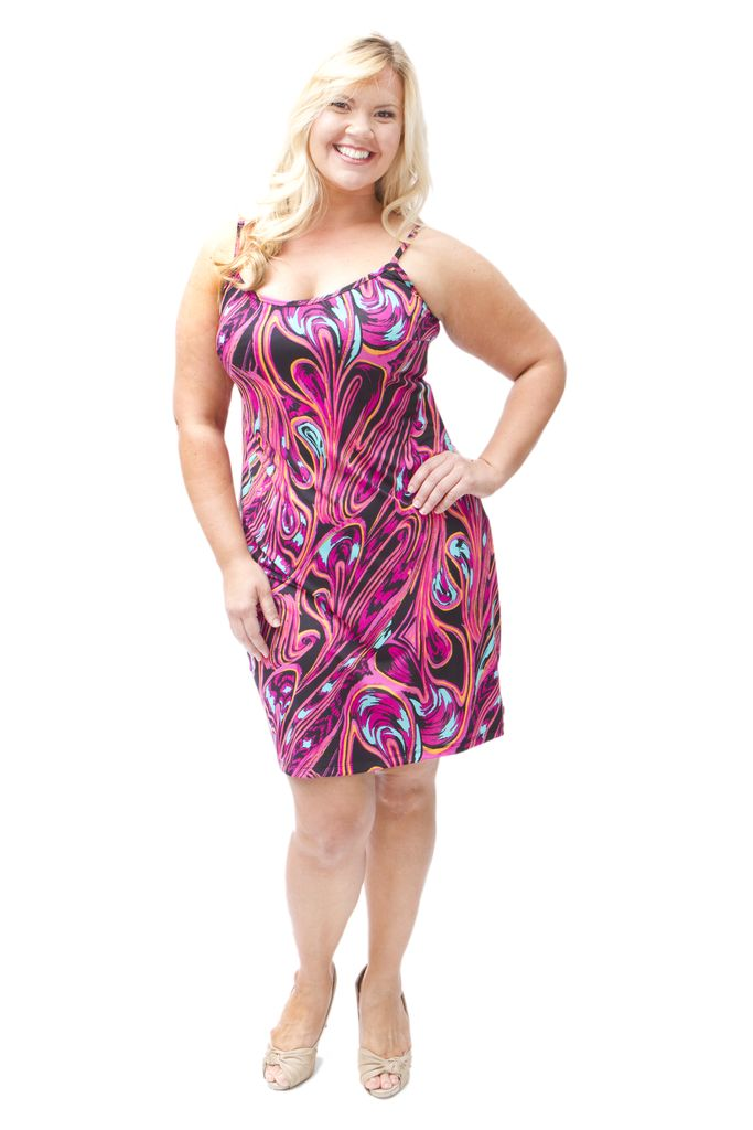 Lee Lee's Valise Sophia Dress in Pink Pallet
