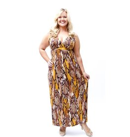 Lee Lee's Valise Janet Maxi Dress