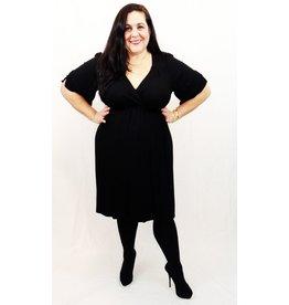 Lee Lee's Valise Stephanie Dress in Black