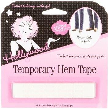 Hollywood Fashion Tape Temporary Hem Tape
