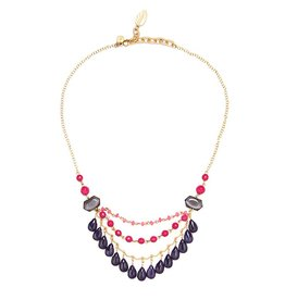 David Aubrey Zoie Fringe Necklace
